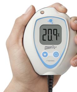 Analisador de oxigênio Maxtec MaxO2+AE ergonomia