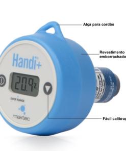 analisador de oxigênio maxtec handi+ vantagens