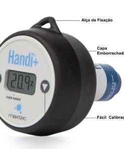 analisador de oxigênio maxtec handi+ industrial características